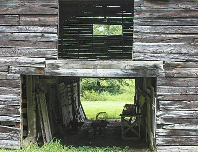 Photograph - Looking Through 1 by Robert J Andler