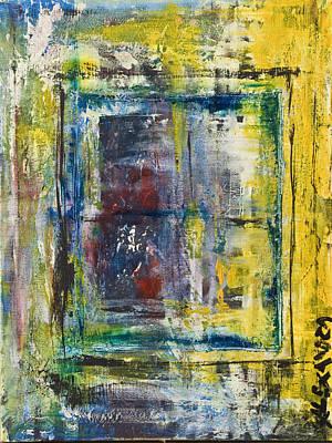 Painting - Looking Through by Alexandra Jordankova