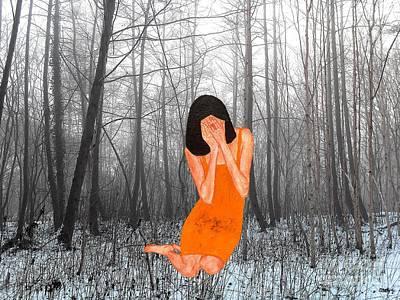 Fantasy Tree Mixed Media - Looking Through My Fingers 3 by Patrick J Murphy