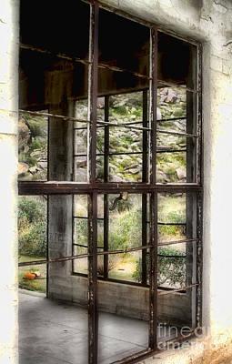 Photograph - Looking Through The Window By Diana Sainz by Diana Raquel Sainz