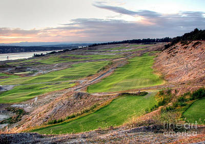 Photograph - Looking To North Meadow - Chambers Bay Golf Course by Chris Anderson