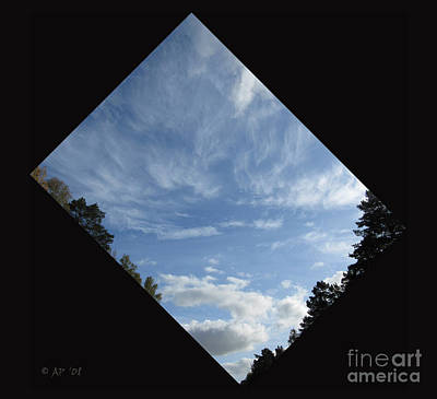 Photograph - Looking To The Blue Blue Sky by Ausra Huntington nee Paulauskaite