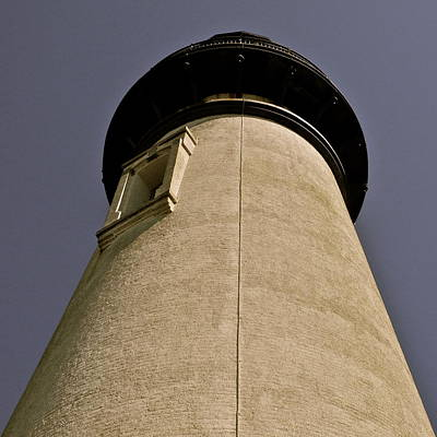 Photograph - Looking Up At Yaquina Head Lighthouse by Kirsten Giving