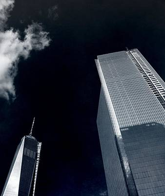 Photograph - Looking Up Freedom Tower In New York City by Dan Sproul