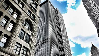 Photograph - Looking Up In Nyc by Susan Garren