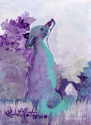 Painting - Looking Up by Linda L Martin