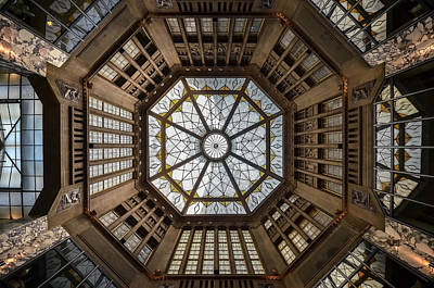 Ceiling Photograph - Looking Up by Renate Reichert