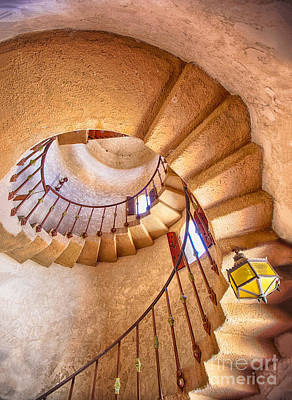 Death Valley Photograph - Looking Up The Down Staircase by Mimi Ditchie