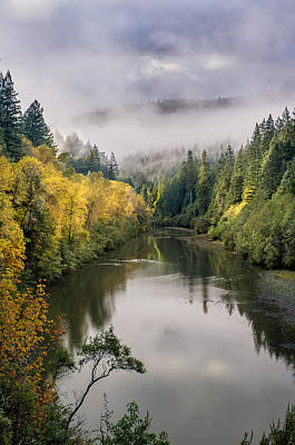 Photograph - Looking Up The Eel River by Greg Nyquist