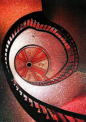 Photograph - Looking Up The Rabbit Hole by Nadalyn Larsen