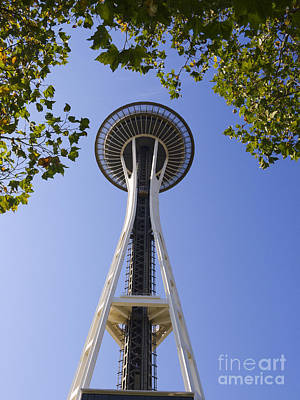 Photograph - Space Needle On The Seattle Skyline by Brenda Kean