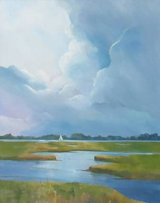 Painting - Looking West by Jim Christley
