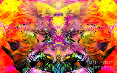 Etheric Digital Art - Looking Within by Aeres Vistaas