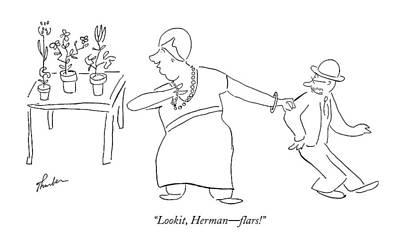 Lookit, Herman - Flars! Art Print