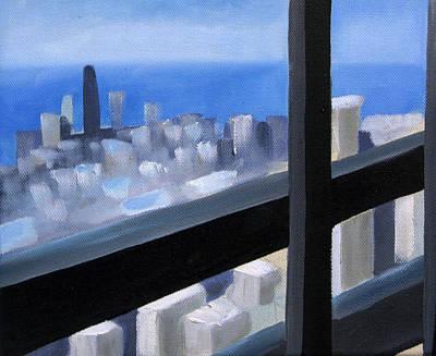 Lookout  Original by Christina Rahm Galanis