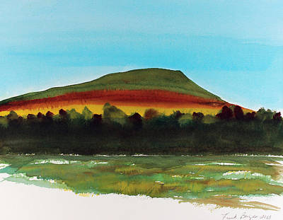 Art Print featuring the painting Lookout Mountain Tn by Frank Bright