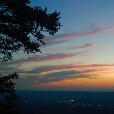 Photograph - Lookout Mtn Sunset by George Taylor