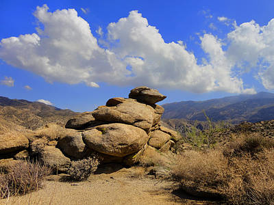 Art Print featuring the photograph Lookout Rock by Michael Pickett