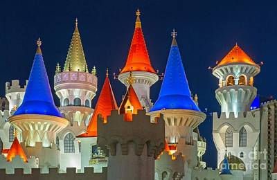 Photograph - Looks Like Disney In Las Vegas by Willie Harper