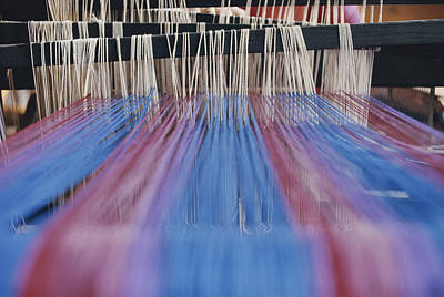 Hand-weaving Photograph - Loom by Bruce Roberts