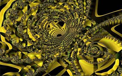 Digital Art - Looping by Ron Bissett