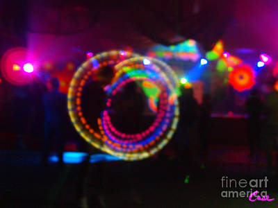 Photograph - Loopty Loop With Pink Haze by Feile Case