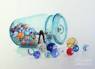 Loosing My Marbles Original by Patty Poole