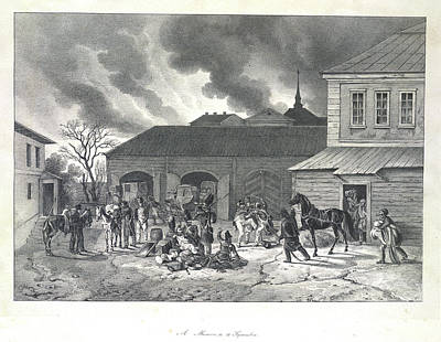 Adam Photograph - Looting In Moscow by British Library