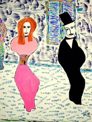 Art Print featuring the painting L'opera by Bill OConnor