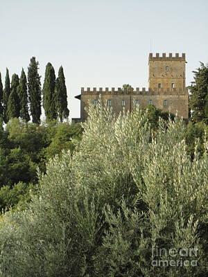 Photograph - Loppiano's Castle by Alessandra Di Noto