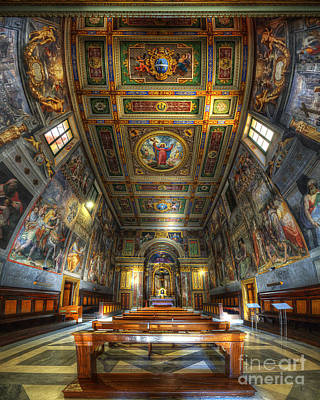 Photograph - L'oratorio Del Santissimo Crosifisso by Yhun Suarez