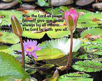 Photograph - Lord Be With You by Sheri McLeroy