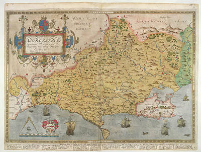 Cartography Photograph - Lord Burghley's Atlas by British Library
