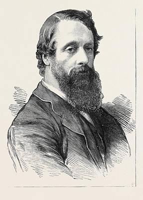 Lord Frederick Charles Cavendish Art Print