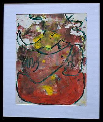 Painting - Lord Ganesha-4 by Anand Swaroop Manchiraju