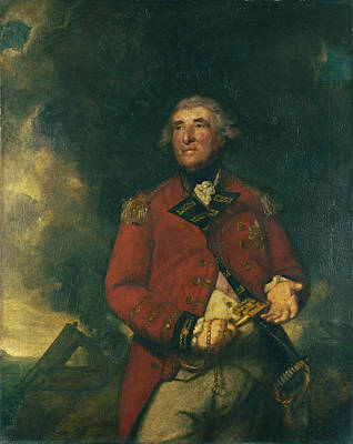Painting - Lord Heathfield Of Gibraltar by Sir Joshua Reynolds