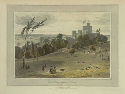 Lord Henry Seymour's Castle Art Print by British Library