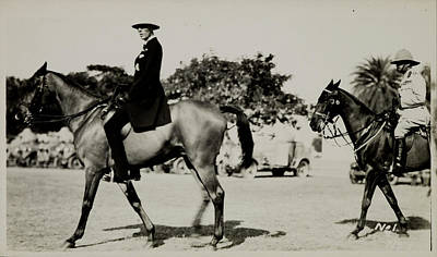 Dilli Photograph - Lord Irwin On Horseback by British Library