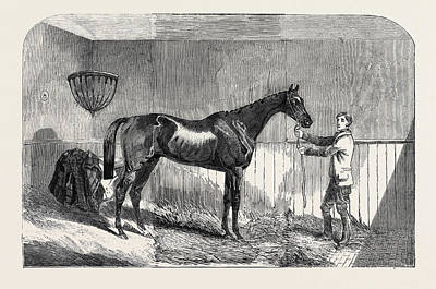 Lord Drawing - Lord John Scotts The Reiver, Winner Of The July Stakes by English School