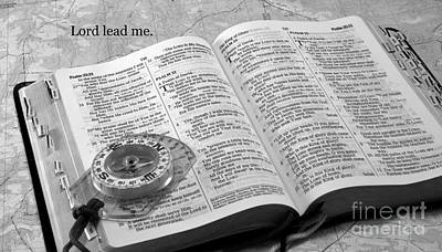 Photograph - Lord Lead Me by Sandra Clark