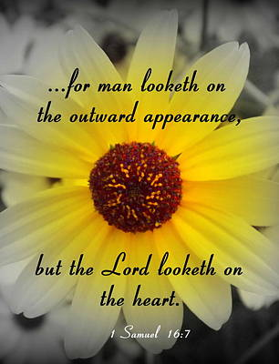 Photograph - Lord Looketh On The Heart by Sheri McLeroy