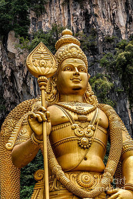 Photograph - Lord Murugan by Adrian Evans