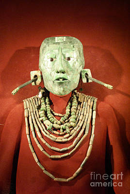 Photograph - Lord Pacal Mexico by John  Mitchell