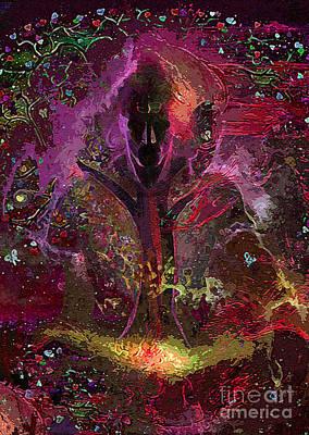 Aristocrat Digital Art - Lord Shiva by Anil Kumar