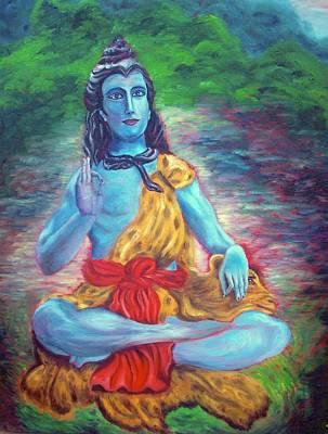 Lord Shiva Original by Mila Kronik