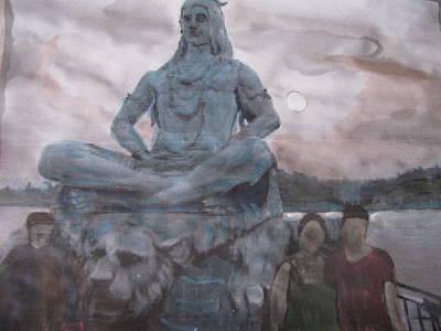 Lord Shiva Art Print