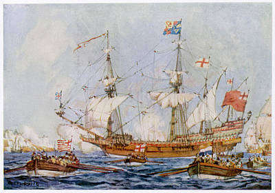 Lord Wimbledon's Flagship  'anne Royal' Art Print