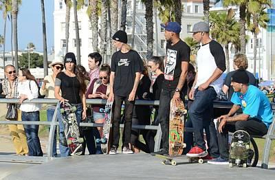 Photograph - Lords Of Skateboarding by Fraida Gutovich