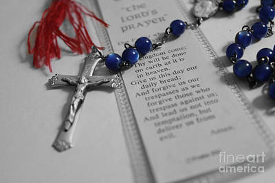 Religion Photograph - Lord's Prayer 2 by Teresa Thomas