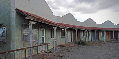 Photograph - Lordsburg Nm Hotel 1 by Jeff Brunton